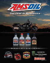 AMSOIL Motorcycle Sign