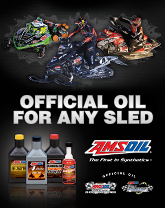 AMSOIL Snowmobile Sign